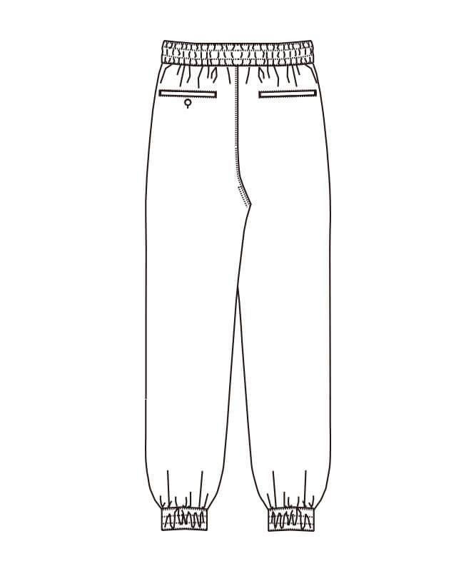 和風パンツ[男女兼用][チトセ製品] DN8503