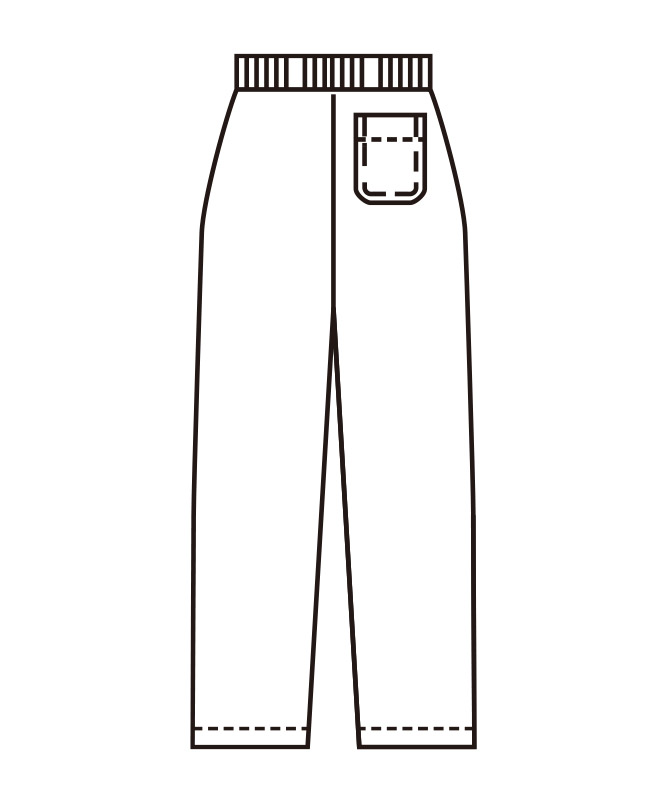 ストレッチツイルスラックスメンズ[KAZEN製品] 437-9