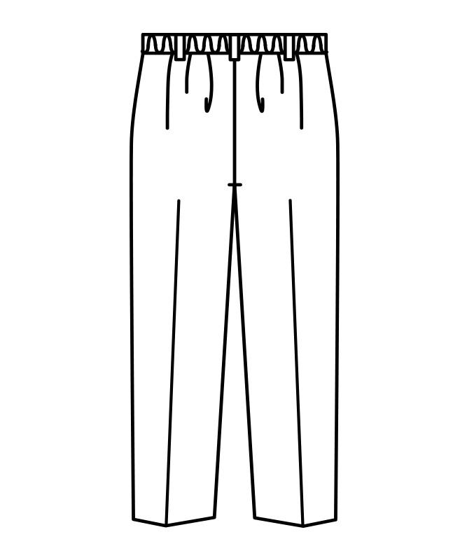 パンツレディス(ツータック・半ゴム)[住商モンブラン製品] 7-171
