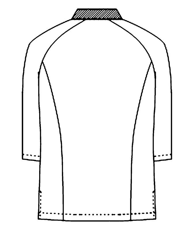 和風シャツ七分袖[男女兼用][KAZEN製品] APK554