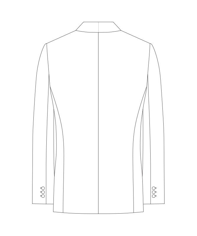 拝絹タキシード[男子][チトセ製品] KM8390