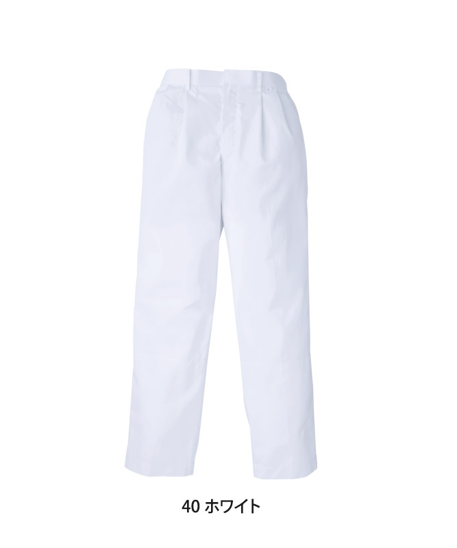 単糸ツイルスラックスメンズ[KAZEN製品] 438-40