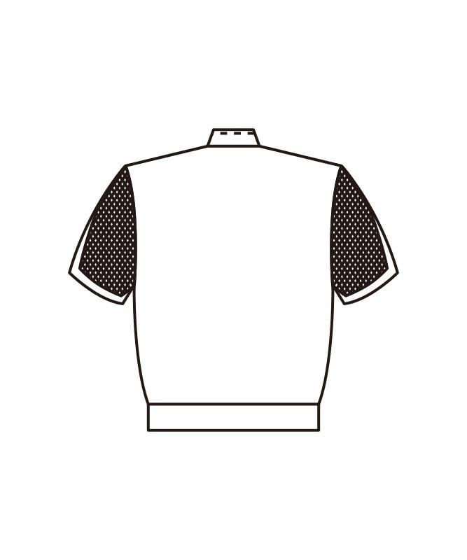 ブロードジャンパーレディス半袖[KAZEN製品] 441-30