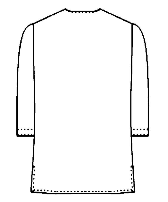 ダボシャツ[男女兼用][KAZEN製品] APK556-15
