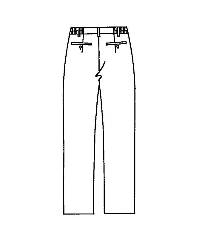 スラックス[男女兼用][KAZEN製品] APK600