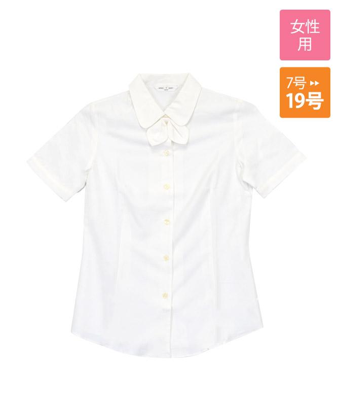 ワッフルブラウス半袖[チトセ製品] BL6815