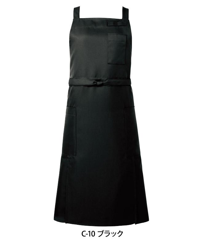 ツイル胸当てエプロン[男女兼用][チトセ製品] T8616