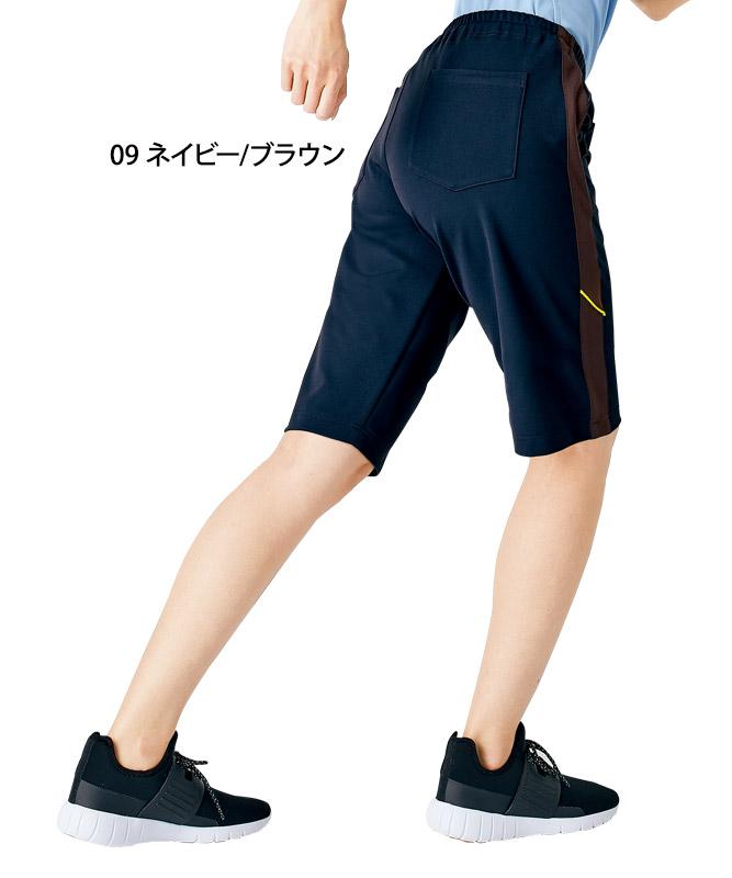 腰ケアハーフパンツ[男女兼用][住商モンブラン製品] FP7414