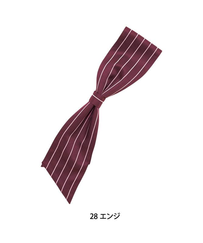 ワンタッチコックタイ(ストライプ)[男女兼用][ボストン商会製品] 28332