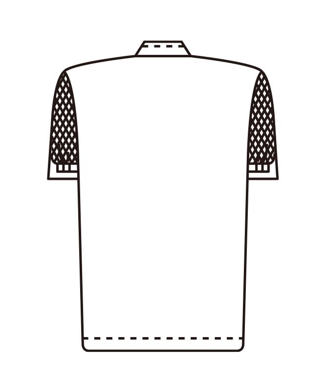 ブロードジャンパーレディス半袖[KAZEN製品] 447-30