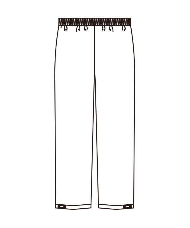イージーパンツ[男女兼用][KAZEN製品] APK653