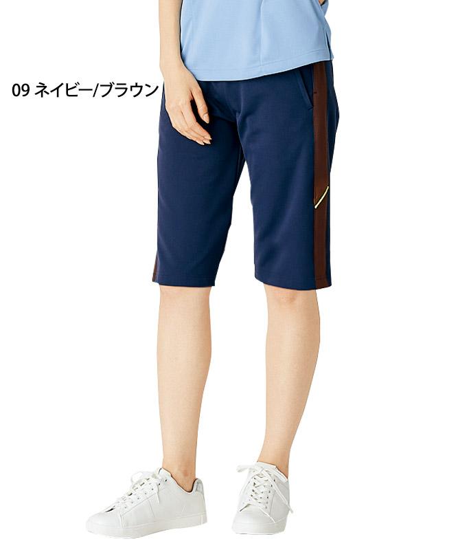 腰ケアハーフパンツ(腰部サポートベルト付)[男女兼用][住商モンブラン製品] FPB7414