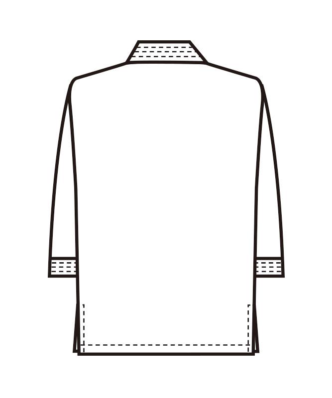 作務衣上衣[男女兼用][ボストン商会製品] 41305