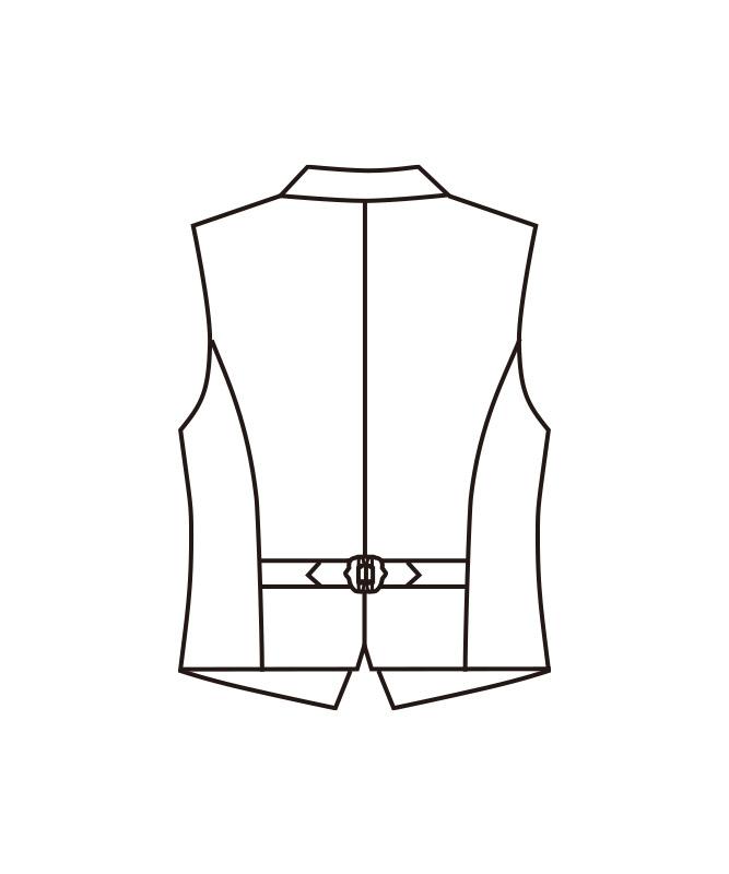 ベスト[女子][チトセ製品] KM8309