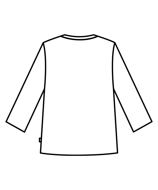 オニベジカットソー8分袖[男女兼用][住商モンブラン製品] OV2513