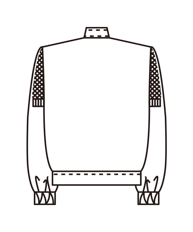 ストレッチツイルジャンパーメンズ長袖[KAZEN製品] 454-9