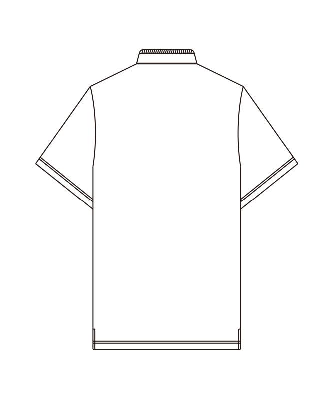 トリコットシャツ半袖[男女兼用][KAZEN製品] 632-1