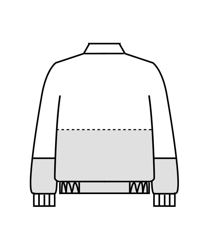 ジャンパー長袖[男女兼用][住商モンブラン製品] RP8701