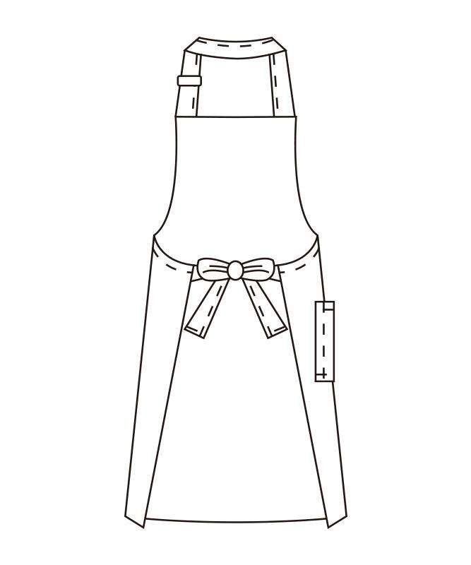 キャンバスエプロン[KAZEN製品] APK105