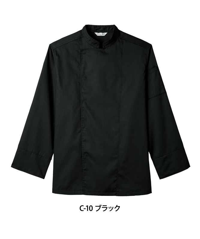T/Cツイルコックコート長袖[男女兼用][チトセ製品] AS8104