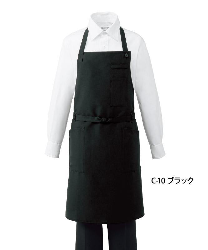 トロピカル胸当てエプロン(首掛け)[男女兼用][チトセ製品] BSS101
