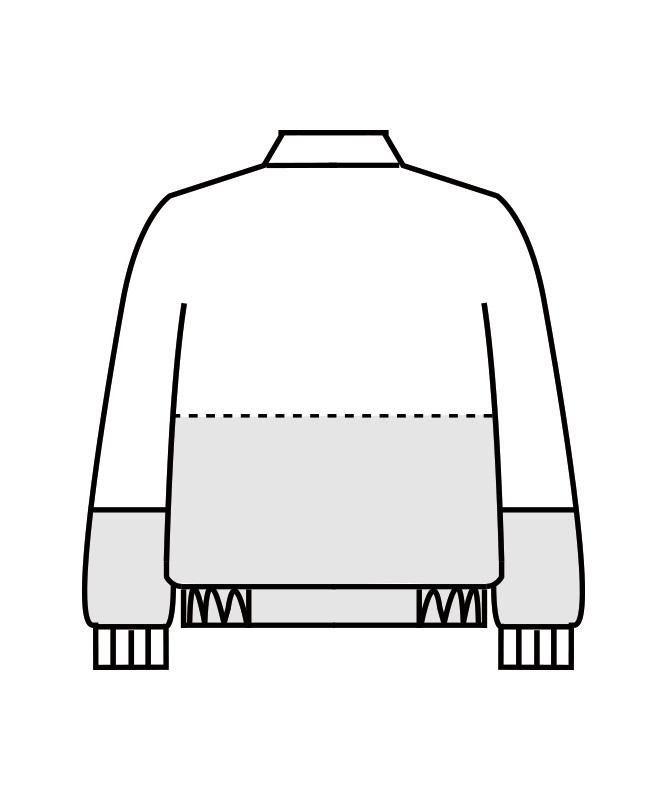 ジャンパー長袖[男女兼用][住商モンブラン製品] DC8701