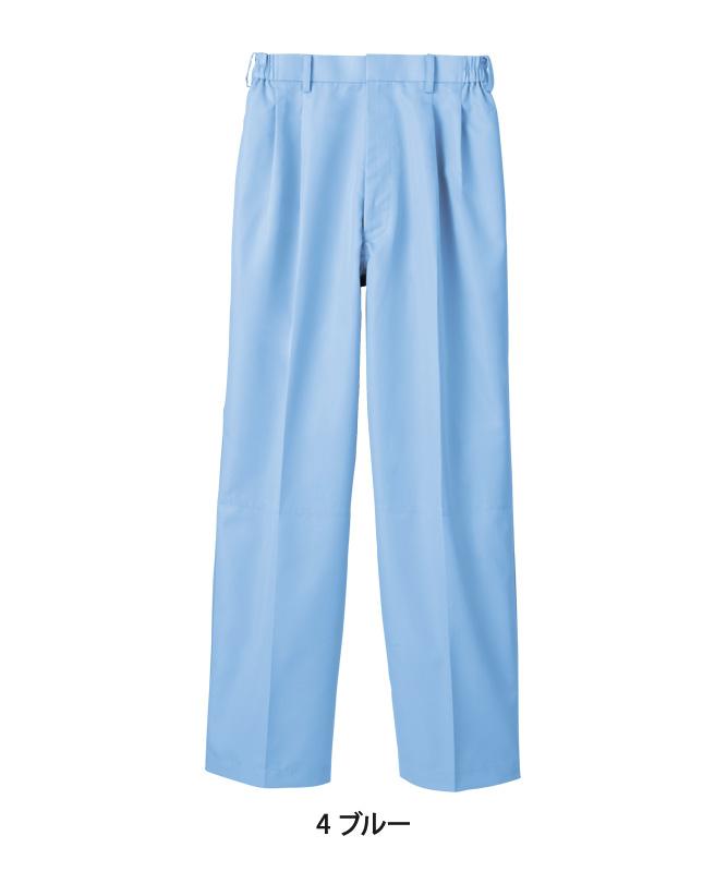 パンツ(ツータック・両脇ゴム)[男女兼用][住商モンブラン製品] RS7511