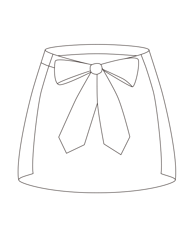 ポプリンサロンエプロン[チトセ製品] A26