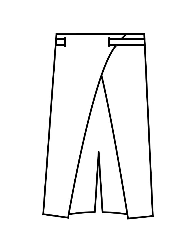 ロングエプロン[男女兼用][住商モンブラン製品] 9-1271
