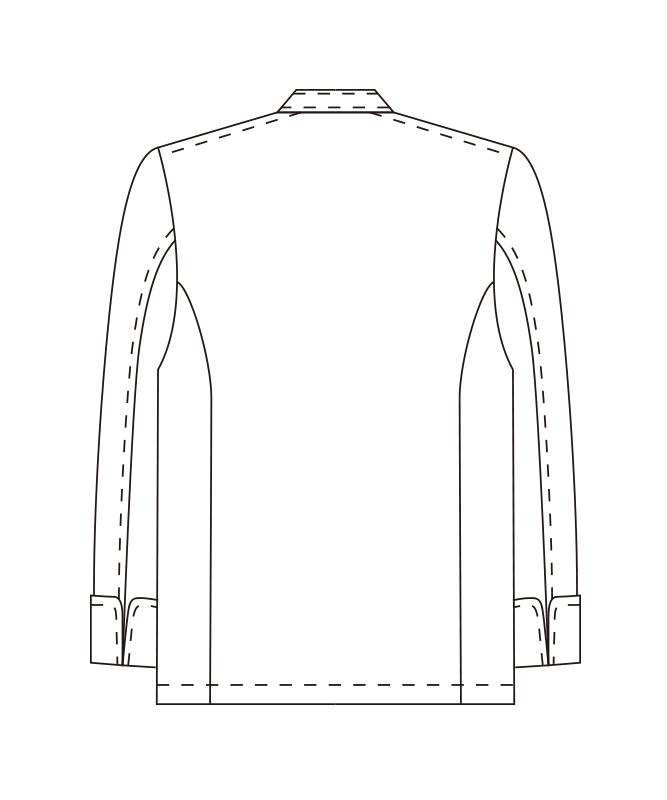 ツイルコックコート長袖[男女兼用][チトセ製品] AS8048