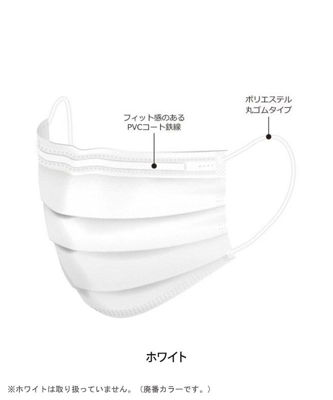 【医療用】バイタル イヤーループマスク(50枚入・返品不可商品)[medicom製品] JMK26