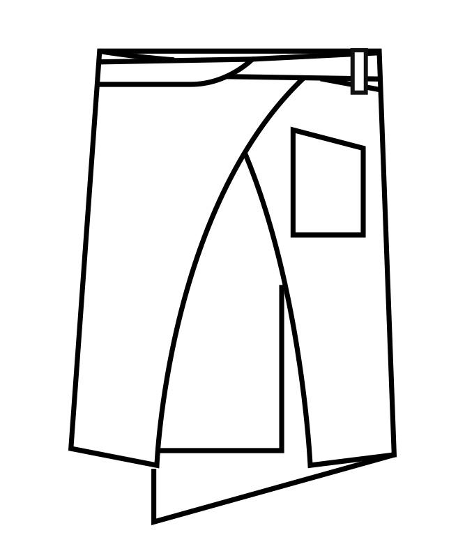 サロンエプロン[男女兼用][住商モンブラン製品] 9-129