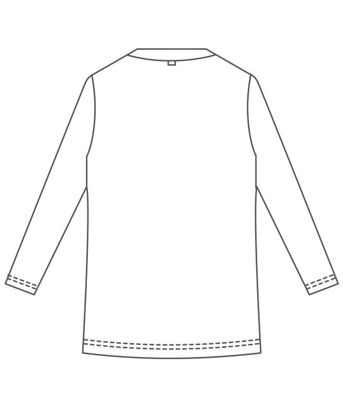 カットソー8分袖[男女兼用][住商モンブラン製品] BW2506