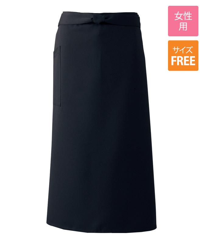カシミアドスキンソムリエエプロン[女子][チトセ製品] A6619