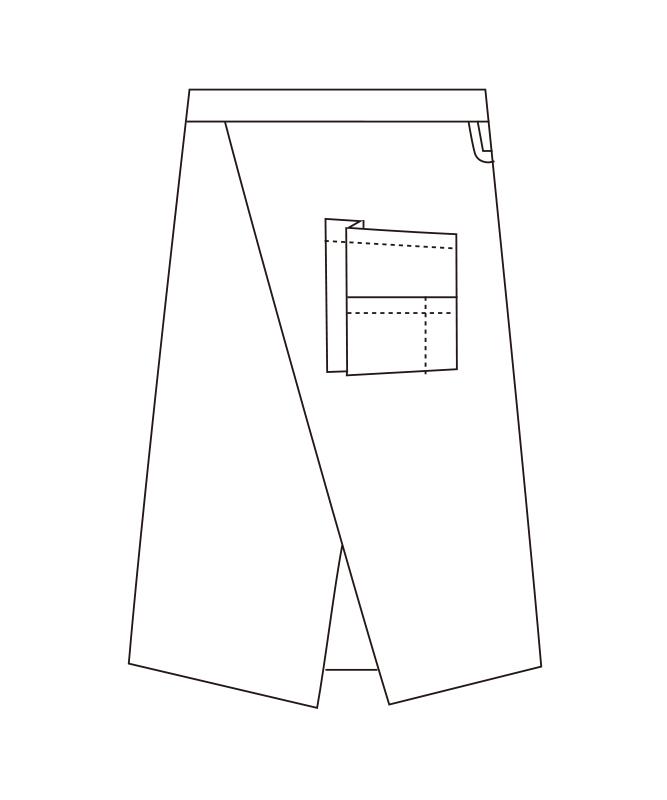 ソムリエエプロン[女子][チトセ製品] T8093