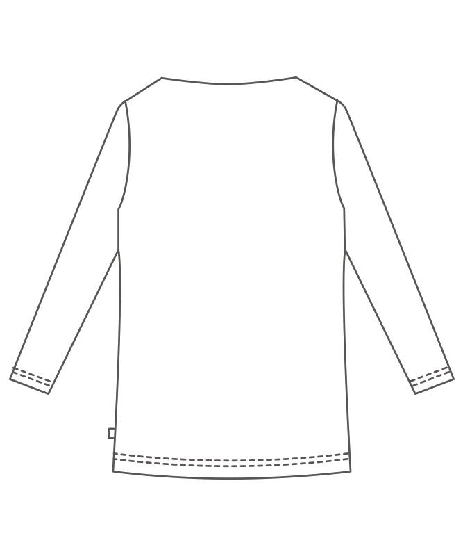 カットソー8分袖[男女兼用][住商モンブラン製品] BW2507