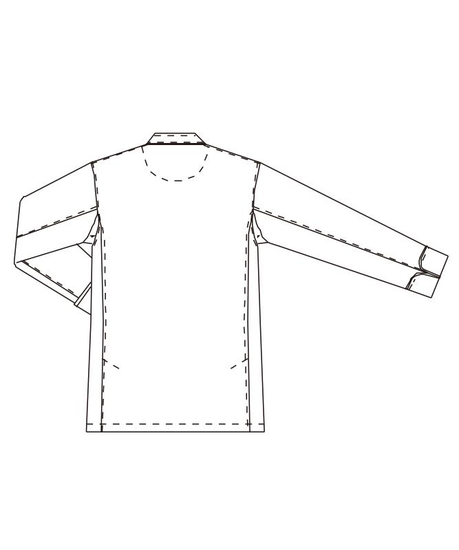 交織ウェザーコックコート長袖[男女兼用][チトセ製品] DN6433