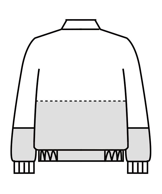 ジャンパー長袖[男女兼用][住商モンブラン製品] RS8701