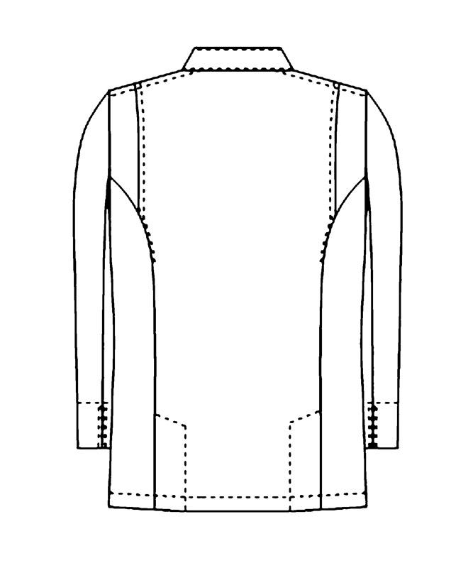 スタンドコート[男女兼用][KAZEN製品] 669-70