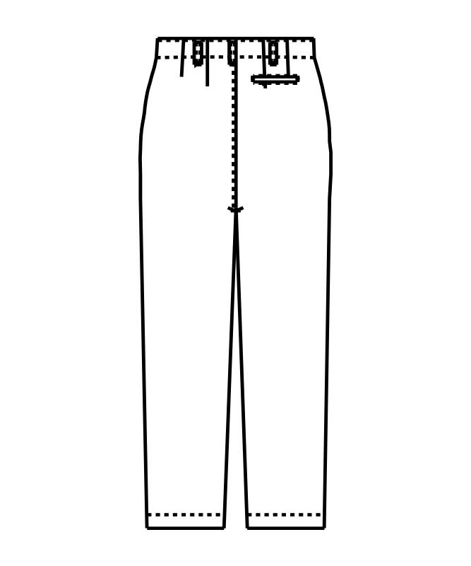 双糸ツイルズボン[男子][チトセ製品] KH420