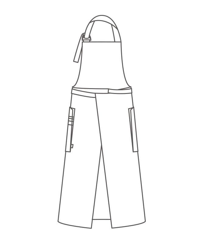 エプロン[男女兼用][住商モンブラン製品] BW5502