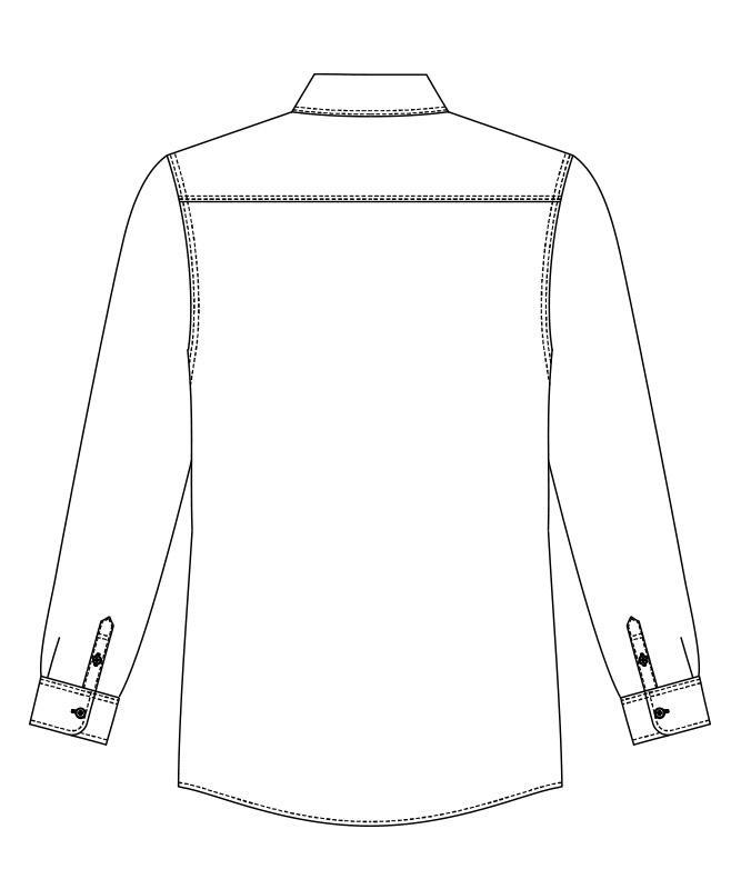 ダンガリーシャツ長袖[男女兼用][チトセ製品] EP8605