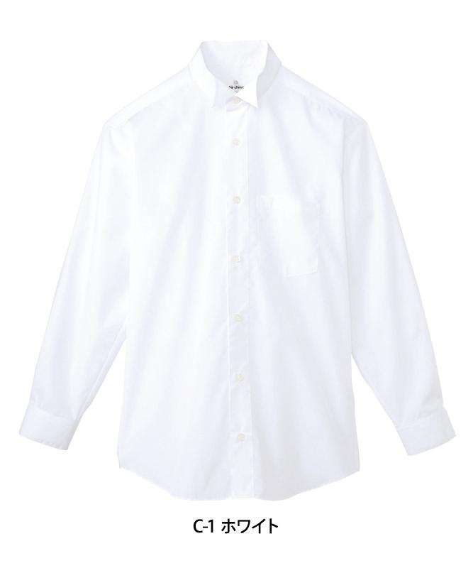 ウィングカラーシャツ長袖[男子][チトセ製品] KM4038
