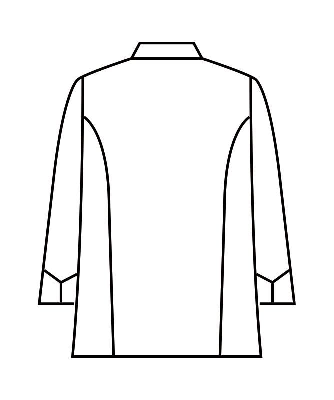 制電交織ツイルコックコート長袖[男女兼用][住商モンブラン製品] RT6621-2