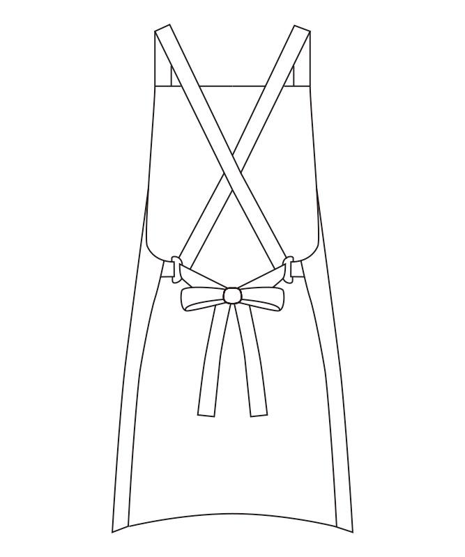 エプロン[男女兼用][チトセ製品] T8544