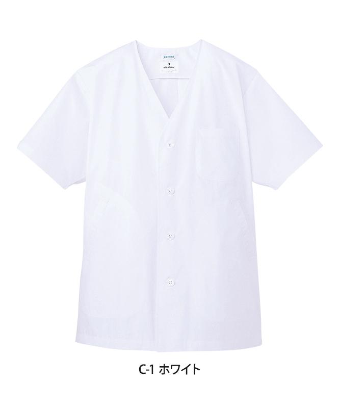 白衣半袖[男子][チトセ製品] AB6402