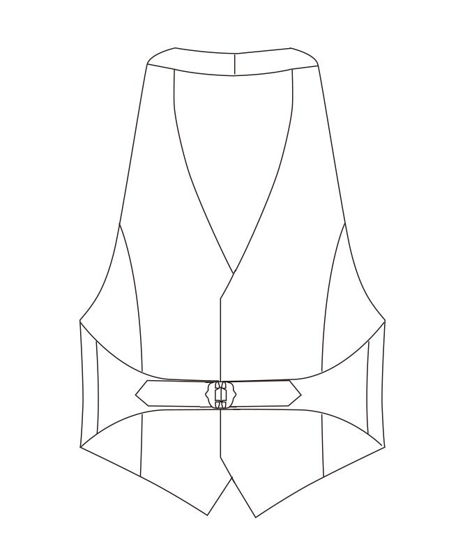 カマーベスト[男子][チトセ製品] AS8065