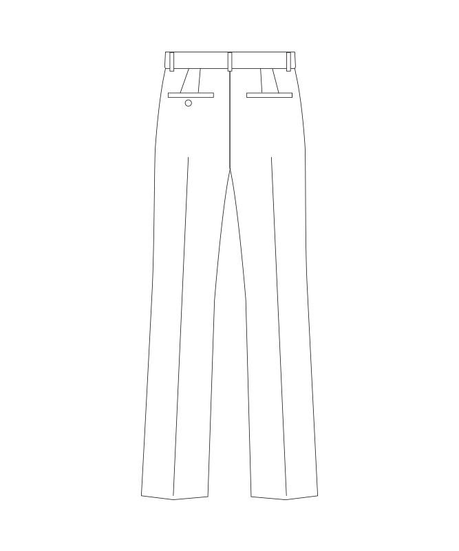 テーパードパンツ[女子][チトセ製品] KM8399