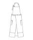 エプロン[男女兼用][住商モンブラン製品] BW5504