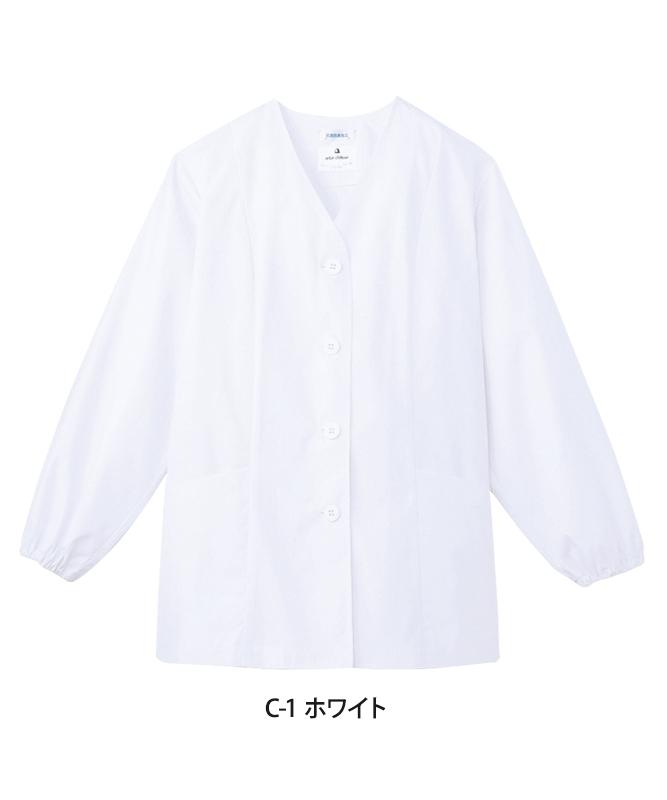 白衣長袖[女子][チトセ製品] AB6403